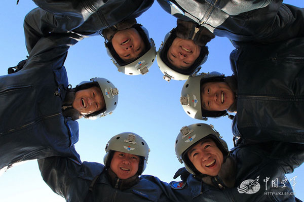 中国空军精英飞行员高清图片